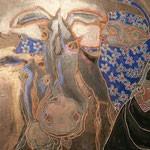 peinture dromadaire