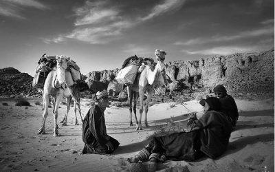 Djanet et ses hommes du désert magnifiés par l'artiste A.U.D.L.Y.A